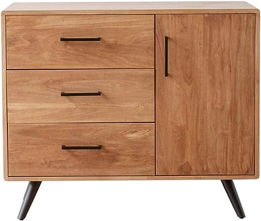 Aparador Sala de estar Gabinete Retro Aparador con cajones Buffet multifuncional Gabinete for Comedor cocina del hogar Unidad de almacenamiento multi muebles (Color : Natural , Size : 94X45X112CM) : Amazon.es: Hogar