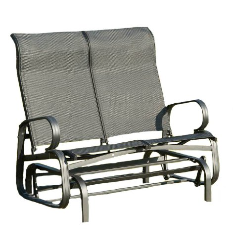 Suntime 2-Seater Havana Twin Seat Glider - Black