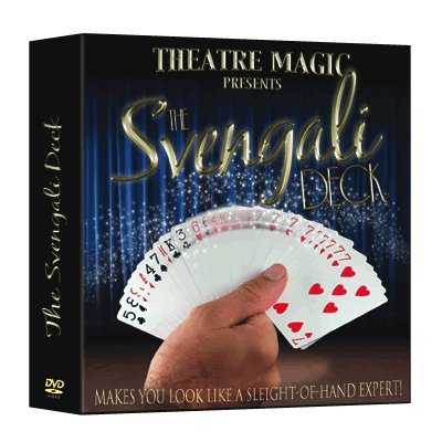 Svengali Deck (DVD and Gimmick) by Theatre Magic - Trick by Theatre Magic, ToysAndGames
