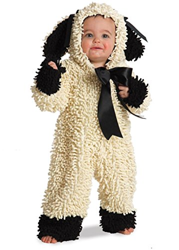 [Wooly Lamb Costume Size 12-18 Month - 4625] (Black Sheep Costumes)