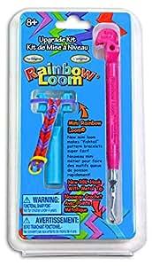 Rainbow Loom Tail Upgrade Kit - Metal Hook - Pink