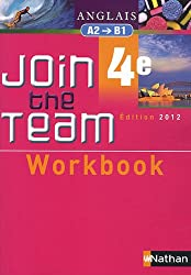 Workbook Join the Team 4e