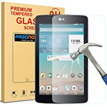 LG G Pad 3 8.0 Screen protector, Pasonomi® [9H Hardness] [Crystal Clear] [Scratch-Resistant] Premium Tempered Glass Screen Protector Film for LG G Pad III/3 8.0 V525 Tablet (LG G Pad 3 8.0)