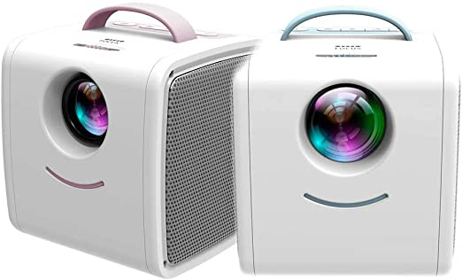 DIVAND Mini Q2 Home niños proyector, Soporte portátil HD 1080P ...