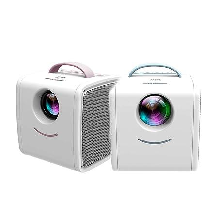 DIVAND Mini Q2 Home niños proyector, Soporte portátil HD ...