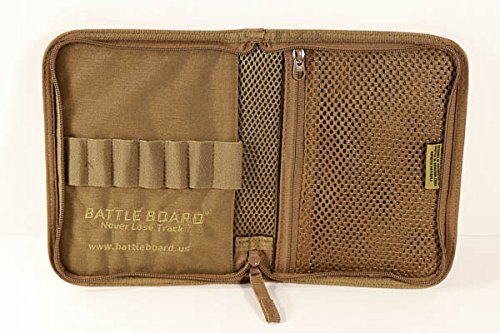 (Battle Board Tactical Notebook Holder Scout (Coyote))
