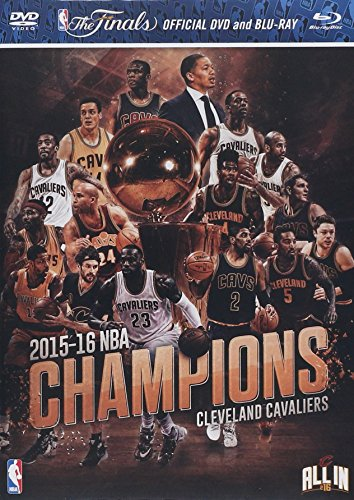 2016 Nba Cleveland Cavaliers Champions Dvd And Blu Ray