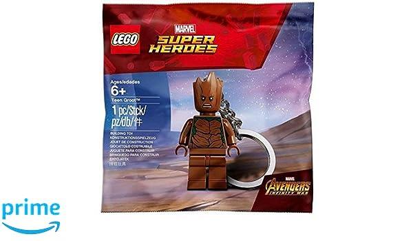 LEGO Teen Groot Llavero: Amazon.es: Juguetes y juegos