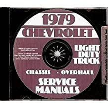 Amazon gm chevy chevrolet truck pickup books fully illustrated 1979 chevy pickup truck repair shop service manual includes k c g p series blazer suburban stake body truck van sportvan fandeluxe Images