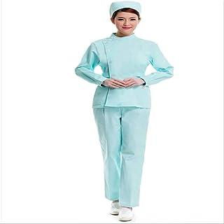 QZHE Abbigliamento medico Il Vestito Medico Dell'Ospedale Dell'Uniforme Dell'Infermiere di Servizio Medico Copre l'Abbigliamento Medico Chirurgico
