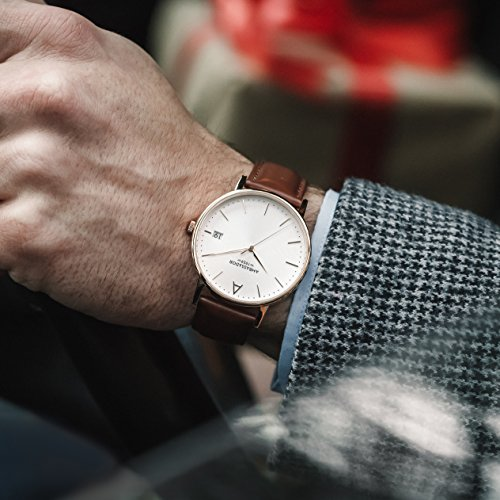 0ecd346b627 Ambassador Luxury Watch for Men – Designer Heritage 1959 Gold Case ...