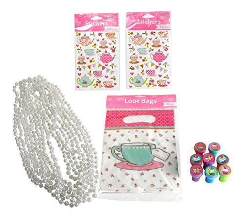 Favors Sticker Sheets Stampers Necklaces