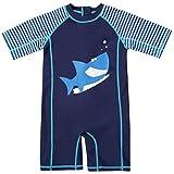 CharmLeaks Toddler Zip One Piece Rash Guard Surf Rash Vest Swimming Costume