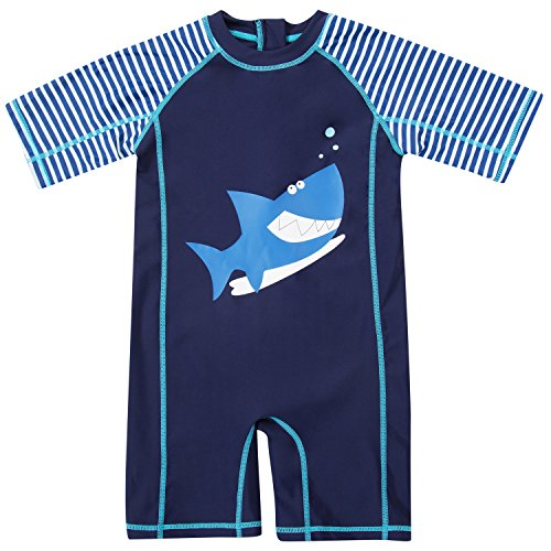 infant shark swimming suit - 3