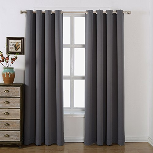 AMAZLINEN-Sleep-Well-Blackout-Curtains-Toxic-Free-Energy-Smart-Thermal-Insulated-Grommet-TopSet-Of-2-Panels-With-Bonus-Tie-Back
