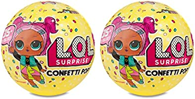 L.O.L Surprise Confetti Pop Series 3 (2-Pack) Collectable Toy