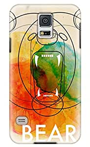 It's a Bear Diy PC Material Phone Case for 3D Samsung 5