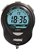 MARATHON Digital Stopwatch Timer with Glow, Jumbo Display and Digits - Battery Included, Color-Black, SKU-ST083013