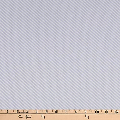 (Andover Sweet Shoppe Candy Stripe Light Grey Fabric)