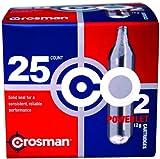 Crosman 12 Gram CO2 (25 Cartridges), Outdoor Stuffs
