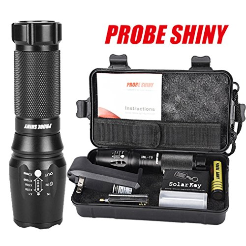 LandFox G700 X800 LED Zoom Military Grade Tactical Battery Shadowhawk Flashlight