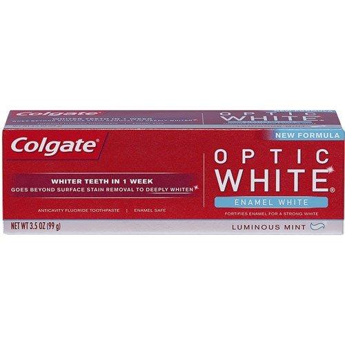 Colgate Optic White Toothpaste Enamel - Colgate Luminous