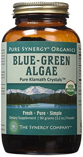 Pure Synergy USDA Organic Klamath Blue Green Algae Powder (3.2 oz) Fully Tested, Non-GMO by Pure Synergy (Image #1)