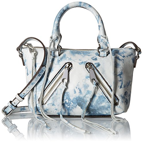 Rebecca Minkoff Micro Moto Satchel Cross Body, Tie Dye, One Size