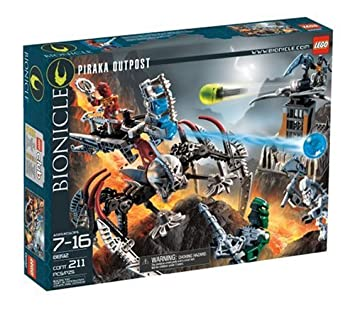 Et Lego Jouets OutpostJeux Bionicle Piraka by67fg