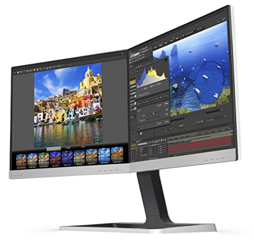 "Philips 19DP6QJNS 19"" x  Dual LED IPS Monitors, 5:4 Aspect R"