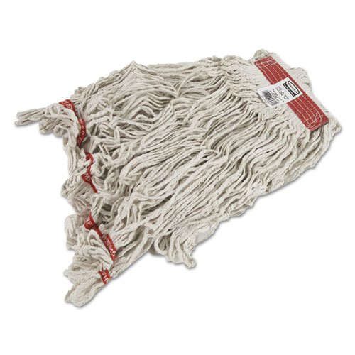 Rubbermaid Commercial - Swinger Loop Wet Mop Heads, Cotton/Synthetic, White, X-Large, 6/Carton by Rubbermaid Commercial