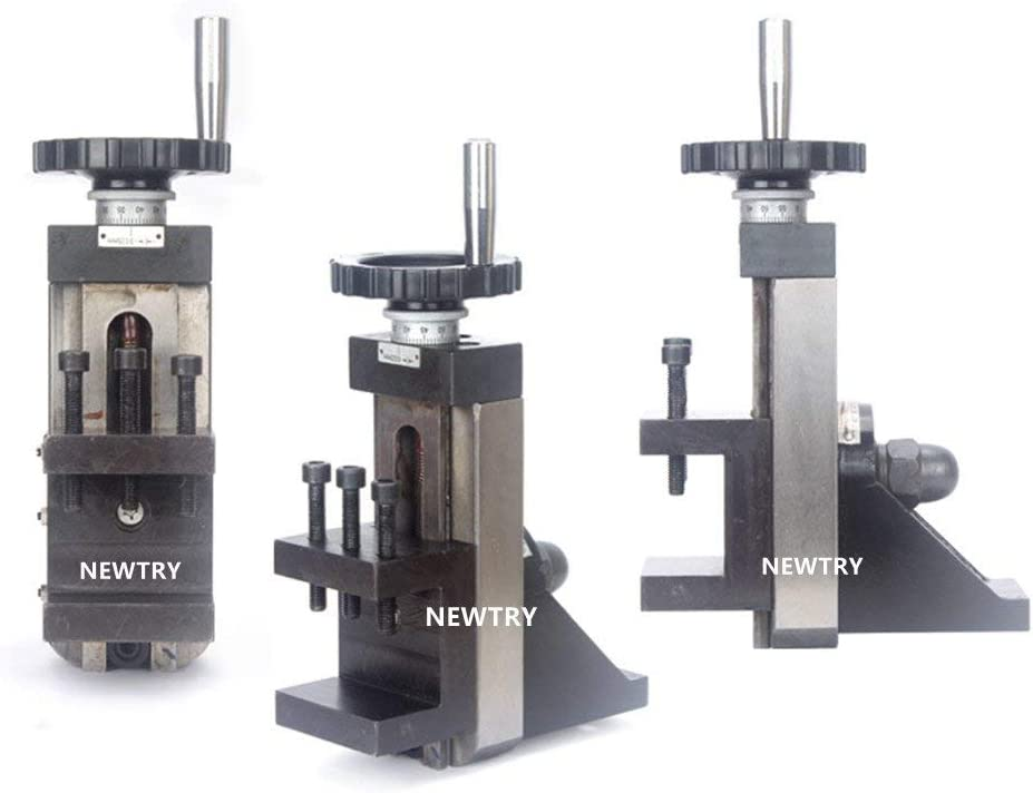 KONGZIR S//N:10061 Vertical Slider Plate Small Household Vertical Mopping Board Lathe Special Accessories Milling Machine Miller Clamp 50mm For C2//C3//SC2