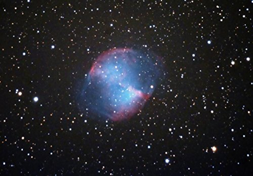 Gifts Delight Laminated 30x21 Poster: Dumbbell Nebula Telesc