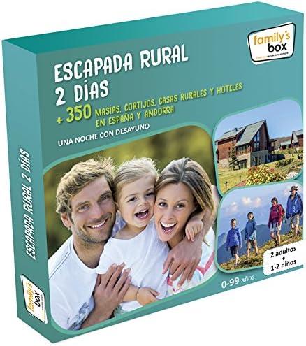 Caja Regalo Escapada Rural 2 Días Familys Box: Amazon.es ...