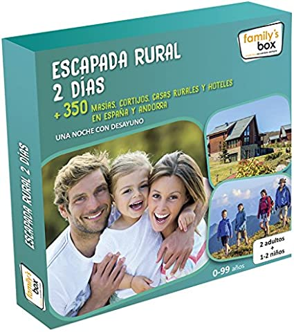 family box escapada rural 2 dias
