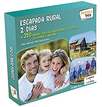 Caja regalo Escapada Rural 2 DÃas Familys Box