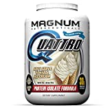 Magnum Nutraceuticals Quattro Protein Powder – 4lbs – Vanilla Ice Cream – Protein Isolate – Lean Muscle Creator For Sale