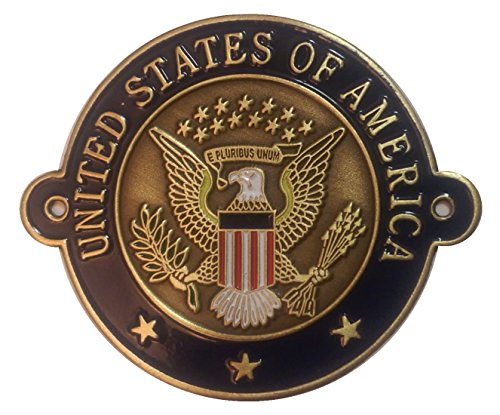 Great Seal of the United States of America - Hiking Stick Medallion (Walking Staff Medallions)