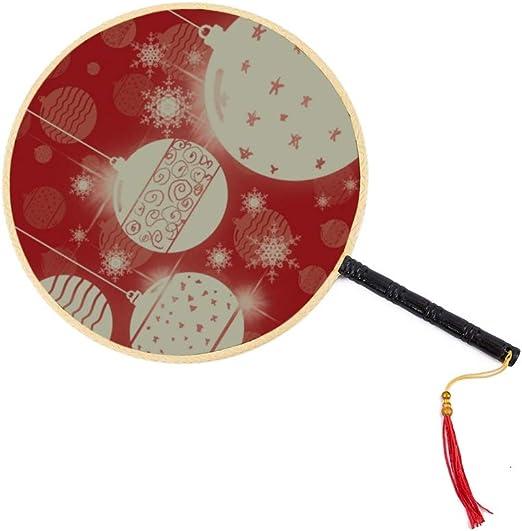 Bolas navideñas Adornos Abanico chino antiguo Abanico clásico de ...