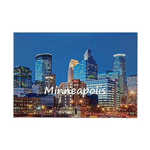 minneapolis fridge magnet - 7
