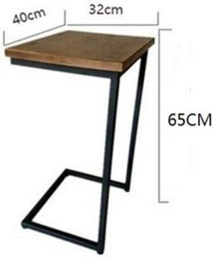 40 x 32 x 60 cm 1512 23 Pollici Dimensioni : 60cm in Legno NAN Tavolino da Salotto per Laptop con Divano Laterale