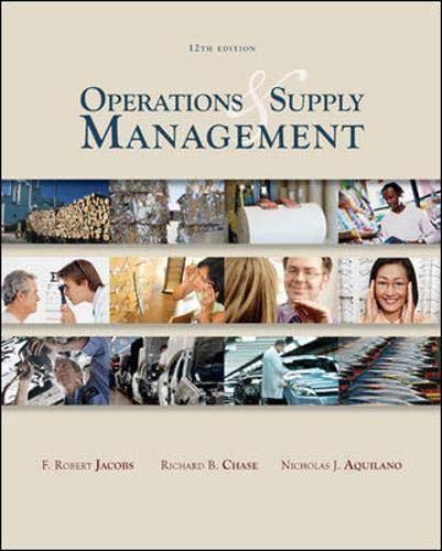 Operations & Supply Management wStudent DVD Rom...