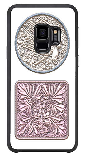 AOFFLY for Samsung Galaxy S9 Only - Cameo Carving Bird - Shock Absorption Protection Phone Cover Case