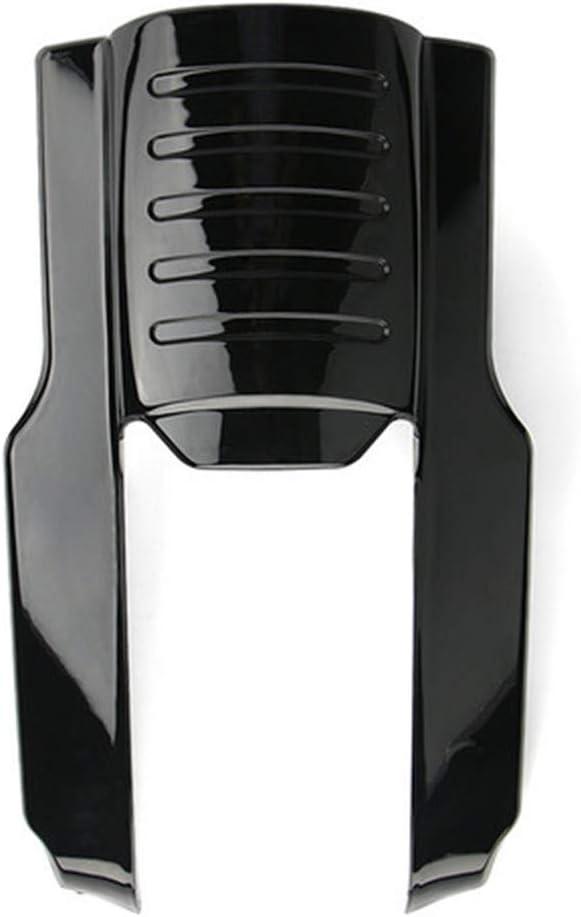 Qlhshop 9 Rear Fender Extension Filler Stretched Black Fender Panel Flare for 1996-2008 Harley Electra Street Road Glide Black