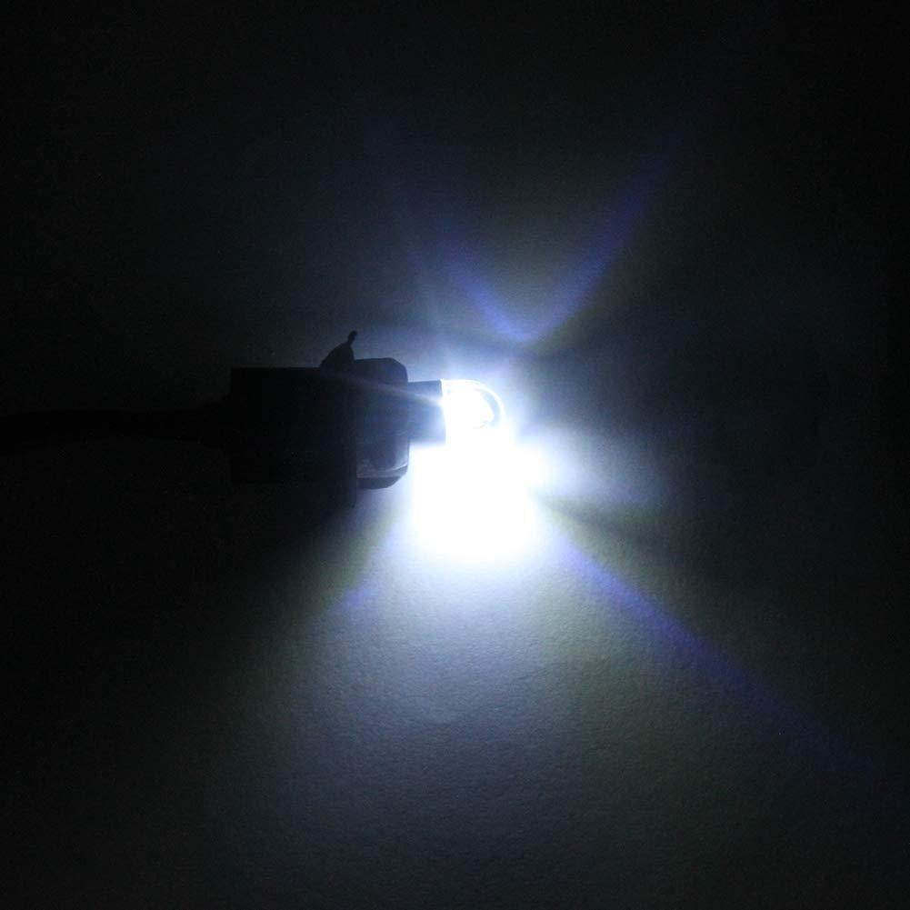 T10 W5W Ampoules bleues lat/érales LED /à haute puissance Car int/érieur d/ôme