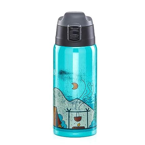 Botella de agua deportiva con aislamiento, matraz de vacío ...