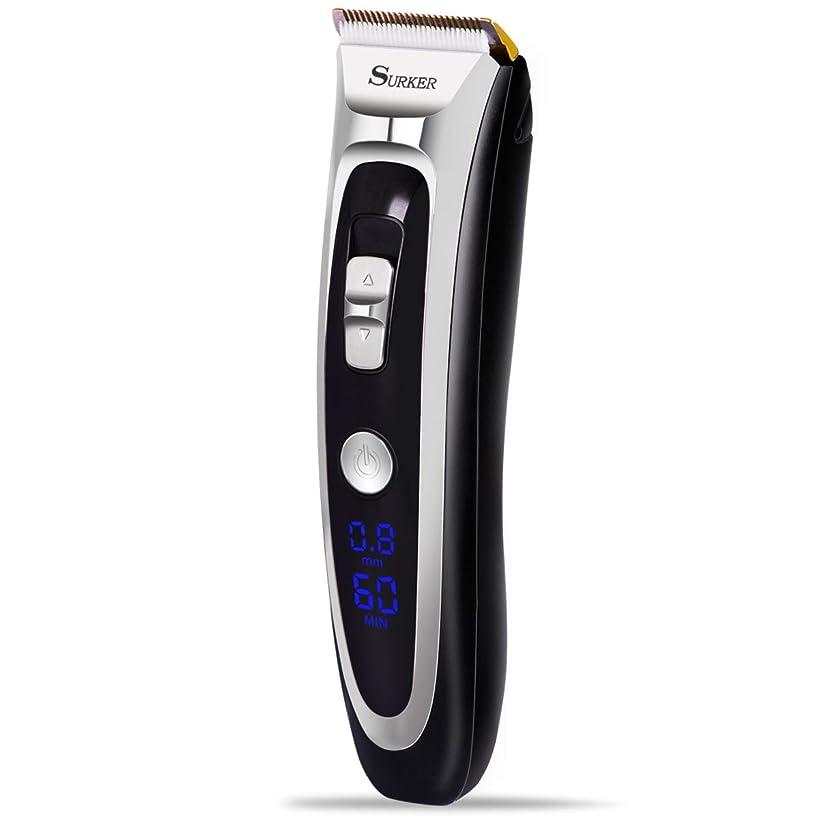 契約するノートエレベーター電動バリカン 髭剃り シェーバー 鼻毛カッター 家庭用 USB充電式 水洗い可 3/6/9/12mm 調整男女兼用携帯便利