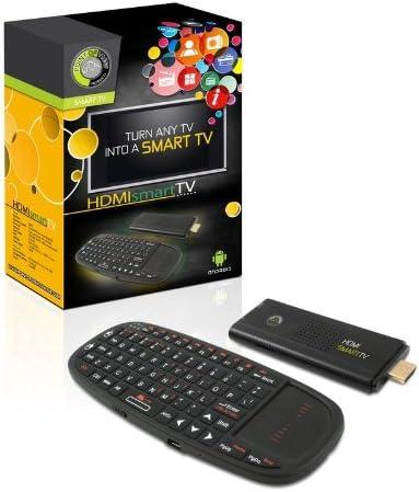 Point of View HDMI Smart TV - Reproductor/sintonizador (Flash, 4 GB, 1.4, microSD (TransFlash), 32 GB, 802.11b, 802.11g, 802.11n) Negro: Amazon.es: Electrónica