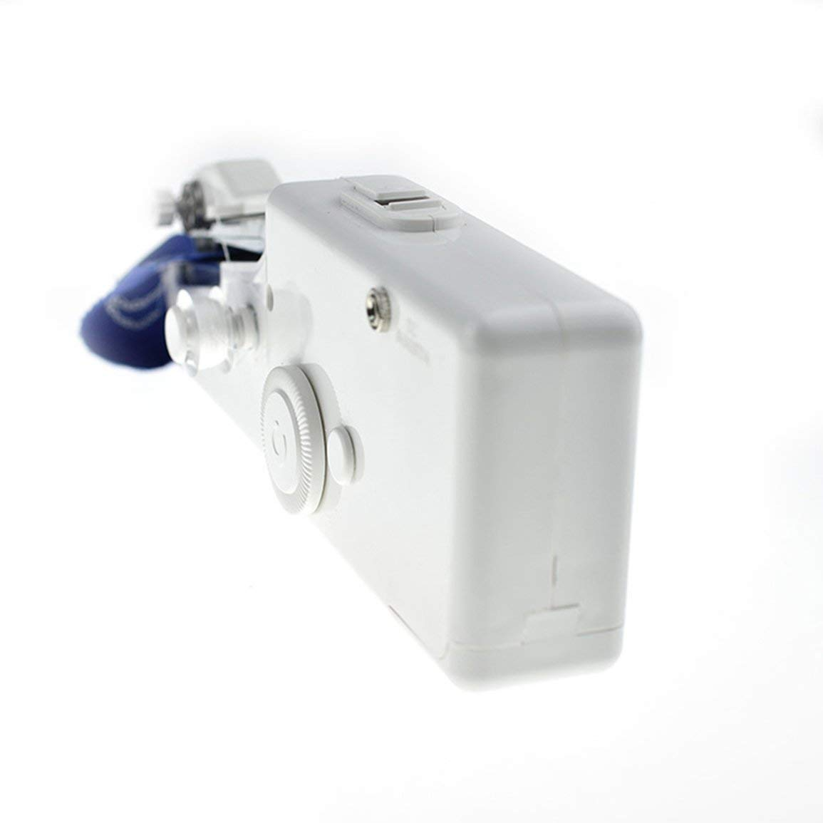 Nähen Fantasyworld Mini tragbare elektrische Handnähmaschine batteriebetriebenes Handy-Stitching Kleidung Nähen Werkzeug für Reisen Home Use Nähen