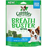 Greenies Breath Buster Bites Treats For Dogs Fresh Flavor, 5.5 Oz., Makes A Great Holiday Gift For Dogs